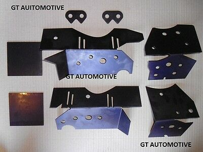 BMW E46 Subframe Chassis Repair Reinforcement Plate Kit For M3, 330i  320i