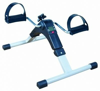 NRS Healthcare Pedal Exerciser with Digital Display Adjustable Foldable Fitness