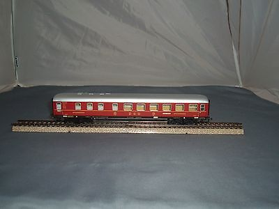 Marklin HO,  Vintage Tinplate D.S.G. Dining Car. in Red.  {3}