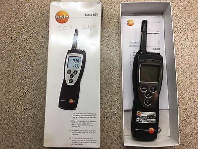 Testo 625 Humidity Moisture Temperature Measurement Meter