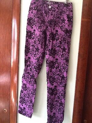 Girls Justice Pants Size 10 - New