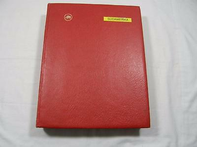 (3048) South America Stamp Collection In 60 Side Stock Album