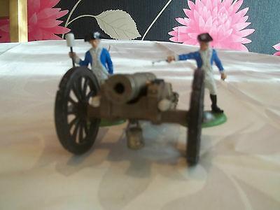 Britains AWI Swoppet Gun Of The Revolution With Crew x 2