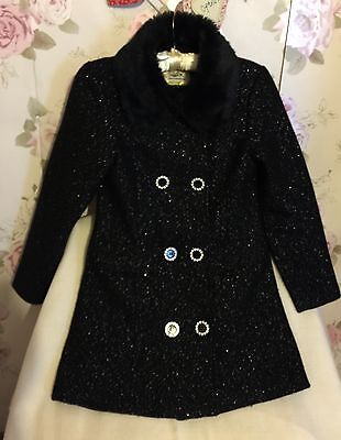 STAR by DESIGNER JULIAN MACDONALD BEAUTIFUL WINTER COAT AGE 11 GORGEOUS!