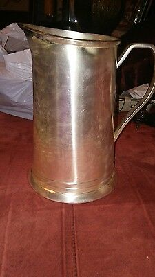 Pottery Barn Antique Silver Sentiment Pitcher No Longer Available