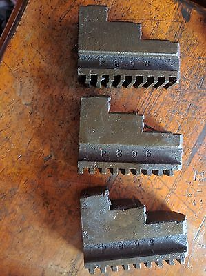 3 PCs set lathe chuck spare jaws no.P896