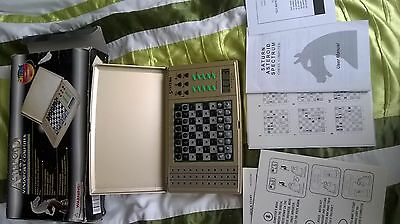 asteroid 4-in-1 Mindsport Computer, Electronic Chess Draughts grasshopper nim GC