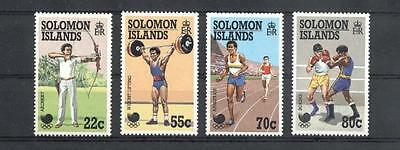 (934377) Olympics, Archery, Weightlifting, Boxing, Solomon Islands