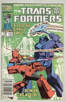 Transformers #18 July 1986 FN