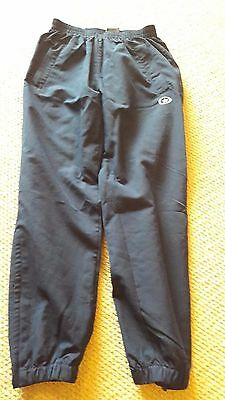 Navy blue girls tracksuit bottoms age 8 - 10