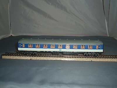 Lima HO.  2nd. Class Coach of the DB,  in Blue and White, { 21 }