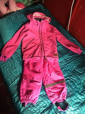 Ski set for a girl age 5-7 jacket and trousers