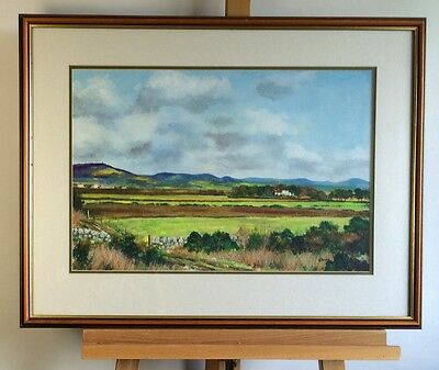 A FORBES - Landscape - Framed watercolour painting, signed
