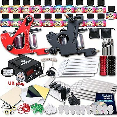 Professional Great tattoo Starter Tattoo Kit Machines Color USA Brand Inks Top
