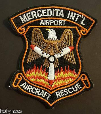 Aircraft Rescue Patch / Mercedita International Airport / Ponce Puerto Rico