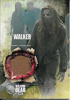 2016 Topps The Walking Dead Season 5 Walker Authentic Clothing Relic Card