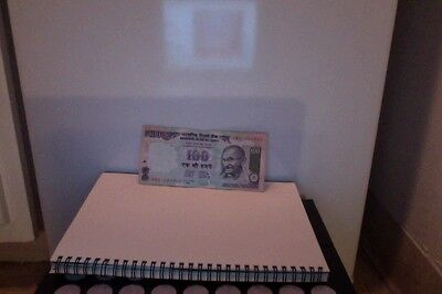 Reserve Bank of India 100 Rupees Paper Money Bill Bank Note Currency BankNote VF