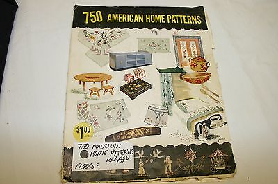 The American Home Pattern Book Vintage 1950's Magazine
