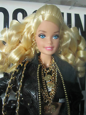 Barbie Moschino doll Caucasian - Blonde - 2015 Gold Label