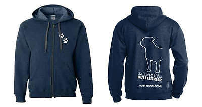 Staffordshire Bull Terrier Hoodie Exclusive Dogeria Breed Design