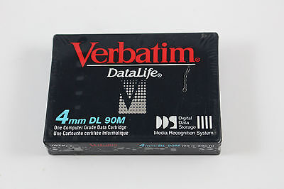 NEW Verbatim DataLife 4mm DL 90M Computer Data Cartridge
