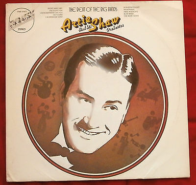 EXCELLENT/ NM VINYL LP - ARTIE SHAW - THE BEAT OF THE BIG BANDS - Embassy 31017