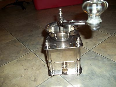 table top coffee grinder BEAUTIFUL CHROME FINISH arcade ?