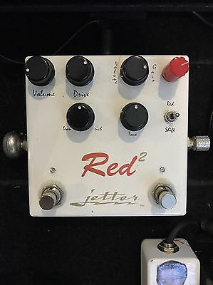 Jetter Gear Red Square  Effect Pedal Overdrive