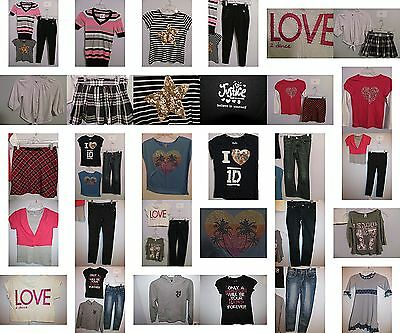 Girls Size 8 Clothes, Jeans, Justice Tops, Skirts, Clothing, Outfits,  Lot