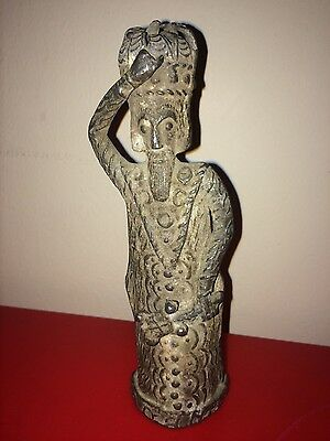 Billy and Charley Antique King Original Metal Figurine