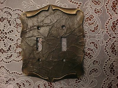 Vintage   Amerock Carriage House 2 Switch Plate Cover