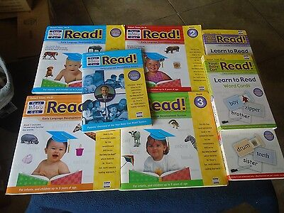 Your Baby Can Read! – Learn To Read Word Cards, Flip Books & Parents' Guide