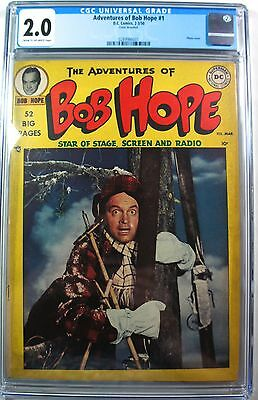 Adventures of Bob Hope #1 (EC 1963) CGC 2.0 G D.C. Comic 2-3/50