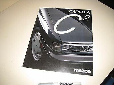 Mazda CAPELLA C2 Japanese Brochure 1987/05 GD8S GDES GD F8 FE   626 C2