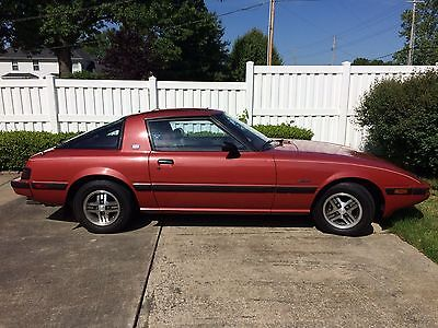 1983 Mazda RX-7 GSL imply stunning original 83 Mazda RX-7 GSL Edition 5-Speed 71445 Actual Miles!