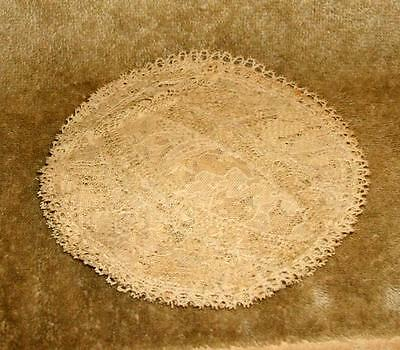 Set of 6 Late 1800's Finger Bowl Doilies