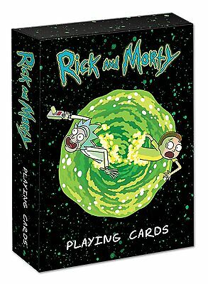 USAOPOLY Playing Cards: Rick & Morty
