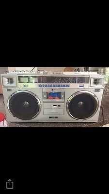 Vintage Rare JVC Boombox RC M70WH Stereo Radio Cassette Recorder Player