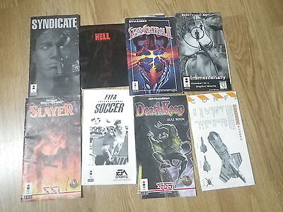 Panasonic 3DO Manuals Instructions Star Control 2 DeathKeep Slayer Syndicate Lot