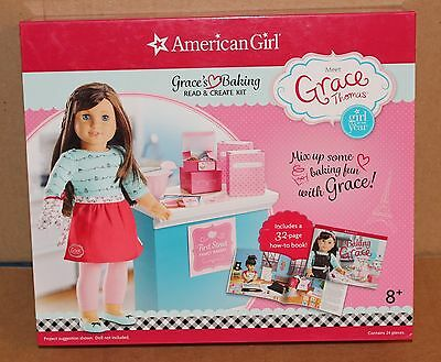 NEW American Girl Baking with Grace Thomas  GRACE'S Baking Read & Create Kit