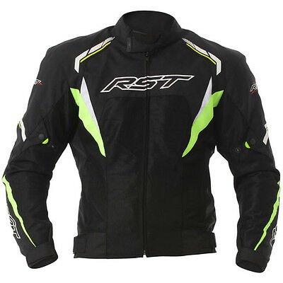 RST T122 Vented Tour Textile Touring Riding Summer Jacket Yellow Black