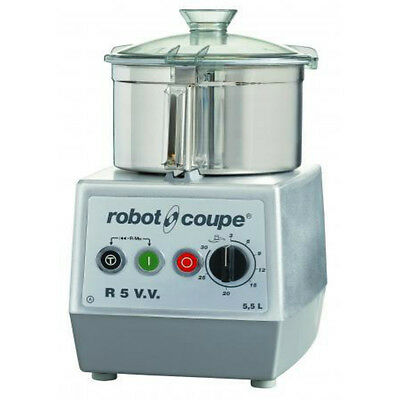 Robot Coupe R5VV 5.5L Table Cutter Mixer Commercial Food processor