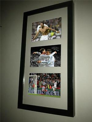 Limited Edition Signed Autographed Real Madrid Photo Picture Frame Ronaldo Bale