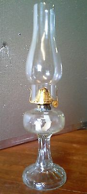 Crown Crystal Glass Table Lamp