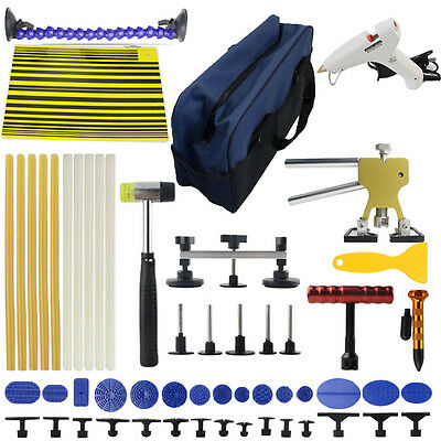 PDR Tool Kit Puller Lifter Hammer Line Board Paintless Dent Repair Hail Removal