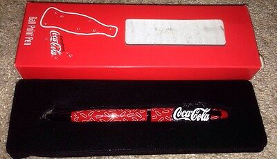 Brand New Everything Coca Cola Ball Point Pen Blue Ink