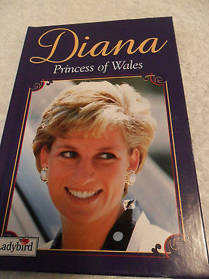 DIANA PRINCESS OF WALES  A Ladybird Book by Audrey Daly