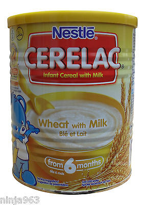 Nestle Cerelac Wheat with milk (400g) From 6 Months