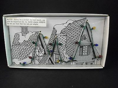 "Dept 56 Village Lights #52159 New in Box D56 14 Bulbs on 27"" Cord"