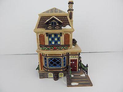 Dept 56 Dickens Village A Christmas Carol Fred Holiwell's House #58492